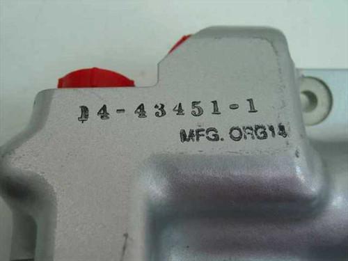 Silver Aluminum Valve Body 14-43451-1