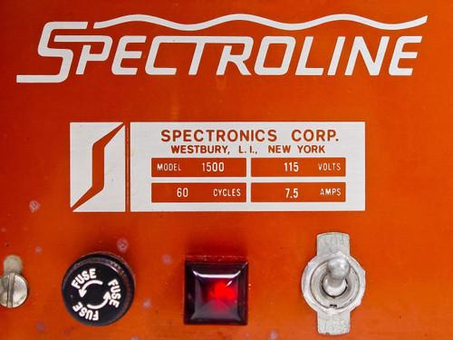Spectronics 1500 Spectroline Lamp Tube Tester