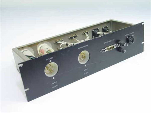 Unbranded Black Power Distribution and Control Panel System for RFX 600