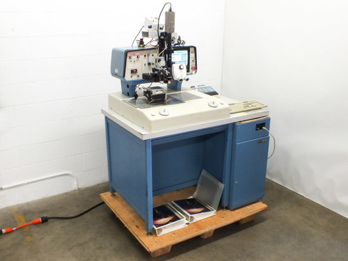 Hughes 2470-V Palomar Automatic Wedge Wire Bonder Aluminum & Gold - Bad CMOS Bat