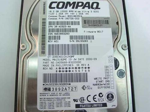 """Compaq 18.2GB 3.5"""" SCSI Hard Drive 80 Pin (180726-002)"""