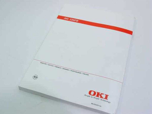 Okidata M-521223-1A ML 320FB Set Up Guide / Manual