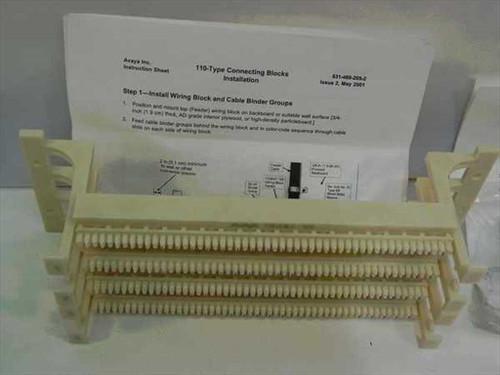 Avaya, Inc. 110-Type Connecting Block with hardware 631-460-205-2