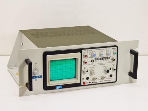 Schlumberger 5013 Oscilloscope 2 chanel with Riber Analog Filter 3db cutoff 2