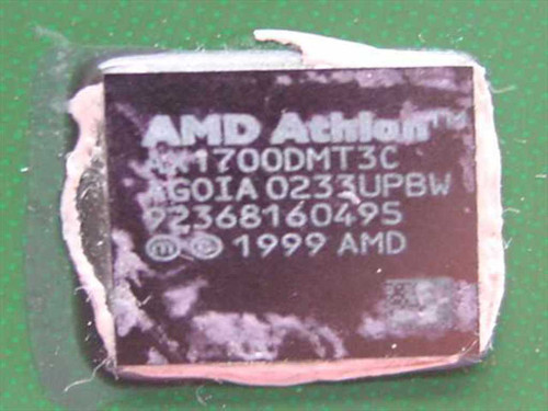 AMD Athlon XP 1700& 1467Mhz/266/256/1.75V (AX1700DMT3C)