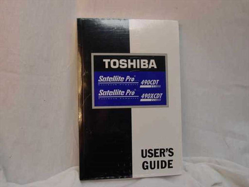 Toshiba C430-0498M1 Satellite Pro 490CDT / 490XCDT Series User's Guide