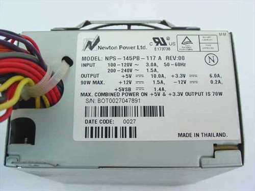 Gateway 145 W ATX Power Supply - NPS-145PB-117A (6500505)