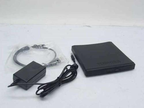 Toshiba PA3352U-2CD2 External USB CD-RW/DVD-ROM Combo Drive (24x CD 8x DVD)