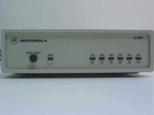 Motorola Dial-Up & Fax External Modem V34R6209541600010