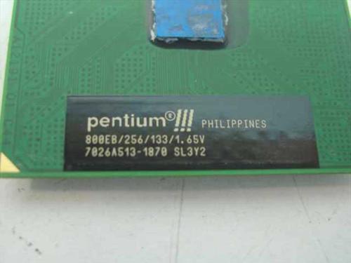 Intel PIII Processor 800Mhz/256/133.1.65V (SL3Y2)