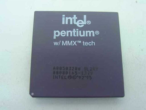 Intel SL2RY 200Mhz MMX Pentium One Processor - A80503200 for Socket 7