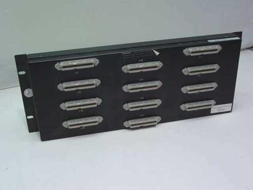 Homaco, Inc T-1 Demarcation Patch Panel-Four Rack Spaces MJP19-6-24CRU