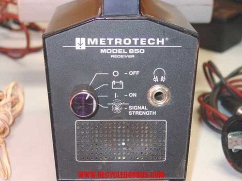 Metrotech 850  Metrotech 850 Line Tracer