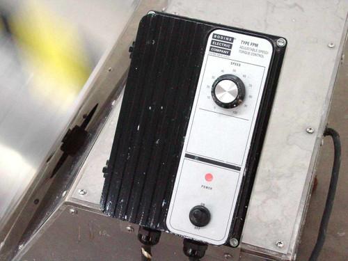 Bodine 1/4 HP Motor 45 RPM Adjustable Speed Torque Controller SS Mixer (FPM 855)