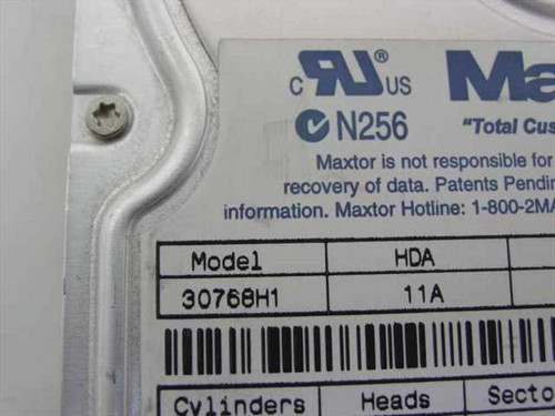 "Dell 7.6GB 3.5"" IDE Hard Drive - Maxtor 30768H1 859NK"