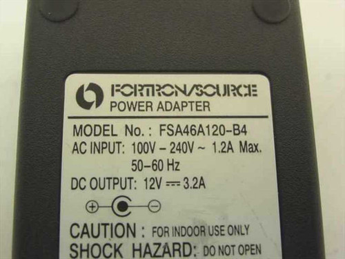 Fortron/Source AC Power Adapter 12VDC 3.2 A FSA46/120-B4