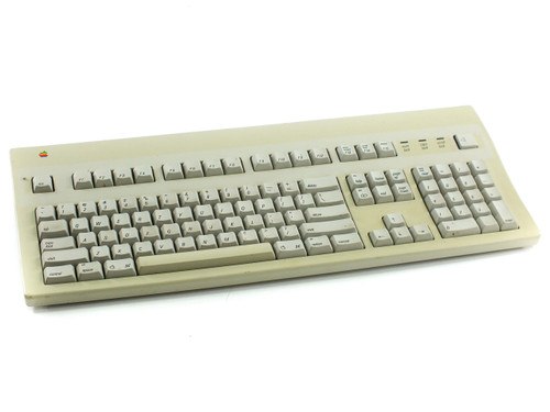 Apple M3501 Extended II Keyboard with Color Mac Logo - No Cable