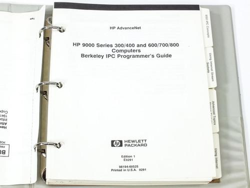 HP 9000 Series  300/400/600/700/800 Computer's Berkely IPC Programmer's Guide