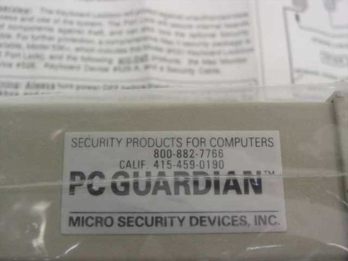 Micro Security Devices MAC Guardian Mac II Keyboard Lockbox & Port Lock 531