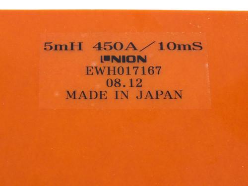 NION EWH017167 5mH 450A/ 10mS Capacitor