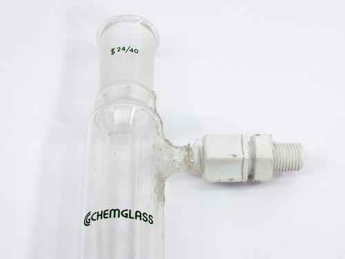 ChemGlass CG-1218 Stright Condenser Liebig 620 mm 24/40 Joint 500 mm Jacket