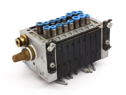 Festo CPV  Pneumatic Air Solenoid Manifold w/ Various Valves R402 R502 R602 R902