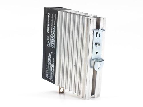 Sprecher & Schuh GTS-25/480-0  Gefran 1 Pole DIN-Rail Relay 6-32VDC Ctrl 480VAC