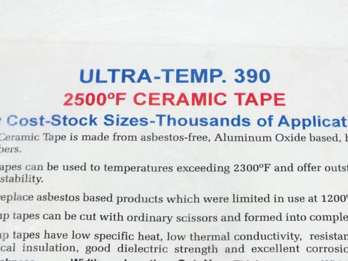"Cotronics 390-21  Ultra-Temp 390 3"" 2500"