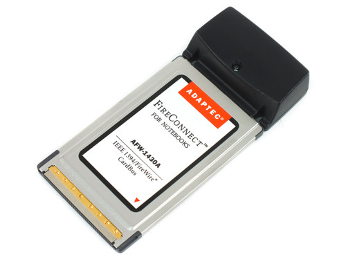 Adaptec AFW-1430A Firewire 1394 PCMCIA Card PC/Mac - NEC Controller