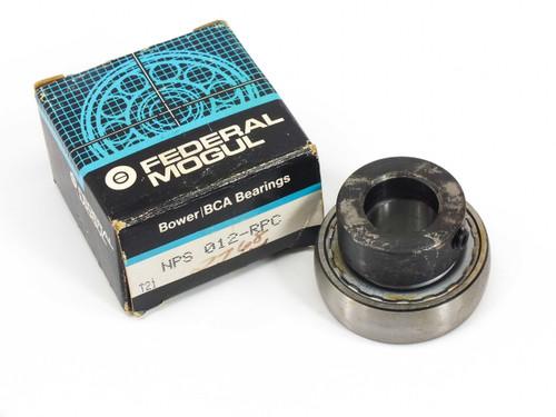 Federal Mogul NPS 012-RPC  Narrow Inner Ring Bearing w/ Extended Inner Ring
