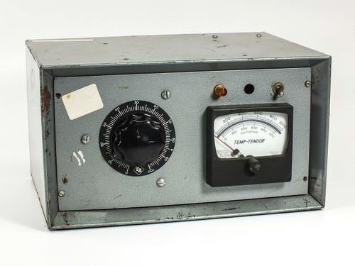 Temp-Tendor 428-8171 Temperature Meter with SE Variac Transformer