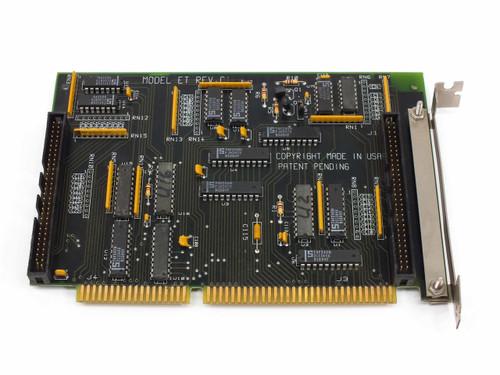 Unbranded Model ET 16-Bit ISA Dual-Channel I/O Board REV C1