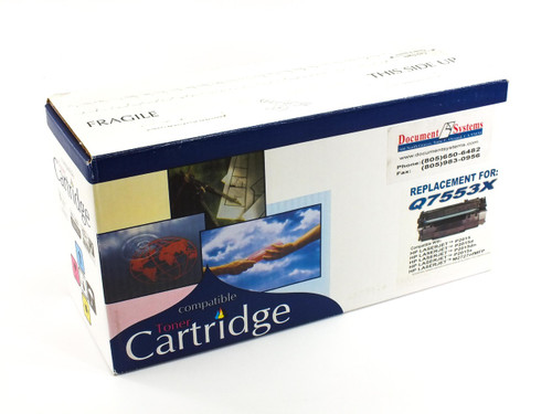 Generic Q7553X  HP 53X Black LaserJet Toner Print Cartridge High Volume NEW