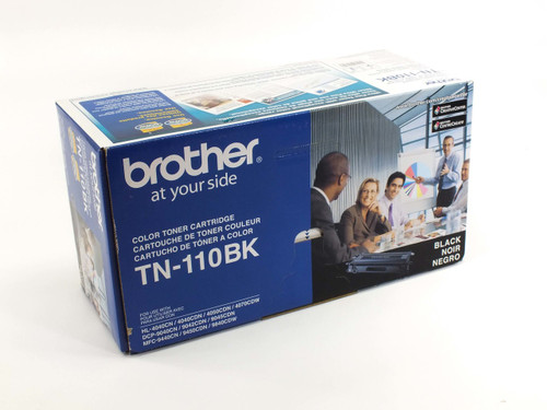 Brother TN-110BK  Black Toner Cartridge Compatible 2,500 pages NEW