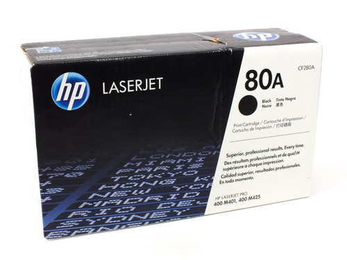 HP CF280A  80A Black Original LaserJet Toner Cartridge