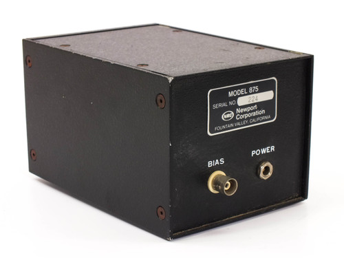 NRC / Newport 875 PIN Model 875 PIN Photodiode Supply Laser Optical Measurement