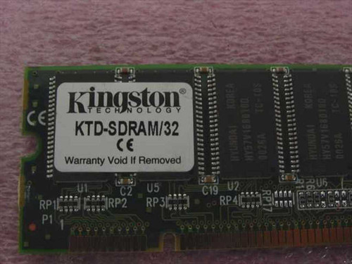 Kingston 32MB Dell Dimension XPS,P133U,P166U(166S),P200U(20 (KTD-SDRAM/32)