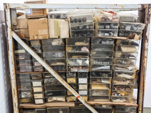 Huge Lot of Various  Camera and Film Parts on Pallet