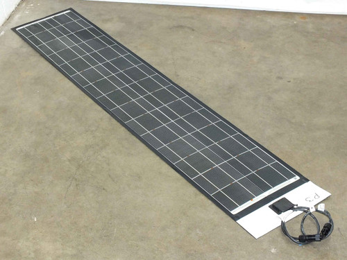 "Solopower 5' (62.5"") SFX-1 35W Flexible Thin Solopanel CIGS Solar Panel - MC4"