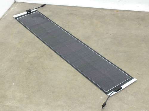 Solopower 20 Watt 5' 12 Volt Flexible Thin Solopanel CIGS Solar Panel BIPV MC4