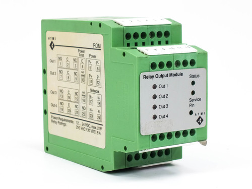 ATMI Relay Output Module DIN-Rail Mounting ROC V2.00 / V2.01 9660-0110