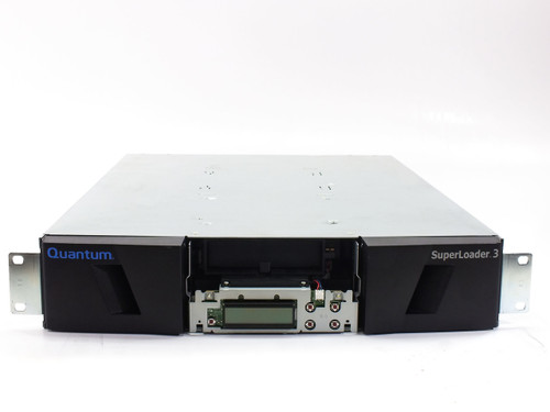 Quantum L700 Tape Superloader / Autoloader with TR-S34XX-QE Drive - Powers On