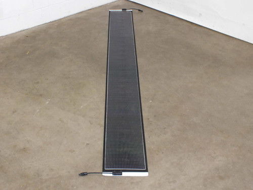 """Solopower 9.6 Foot Long 30V 55W Flexible CIGS Solar Panel with MC4 - 11.5"""" Wide"""