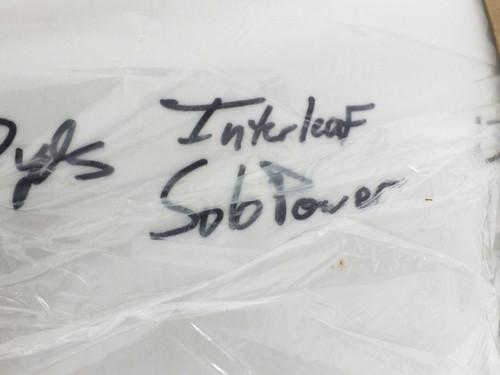 Solopower Interleaf Roll of Paper 13.25 Inch Wide x 2,750 Yard Long
