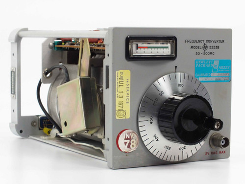 HP 5253B  50 - 500 mc Frequency Converter