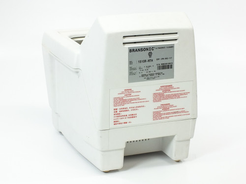 Branson 1510R-MTH Bransonic 1510 0.5 GAL Heated Benchtop UltraSonic Cleaner Tank