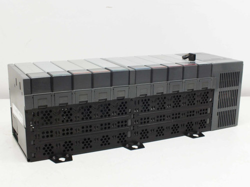 Allen-Bradley 1746-A10 SLC 500 I/O Automation System 10-Slot Rack with Modules