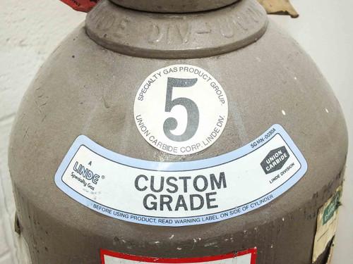 Linde  3.01% Silane Balance Argon Gas Tank