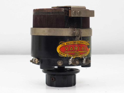 General Radio Type 200 B Variac Adjustable Transformer 170va PRI: 115 SEC: 0~185