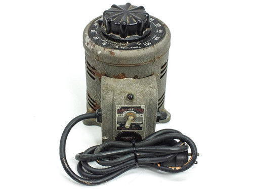 STACO 500B 0~140 VAC Output 7.5A Adjust-A-Volt Power Supply Variac - 115V Input